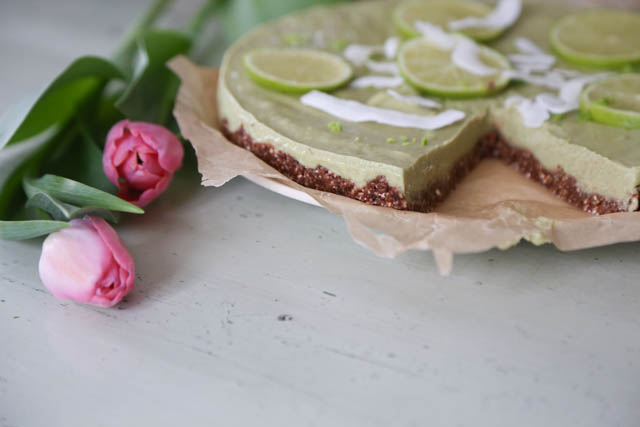 Raaka key lime pie